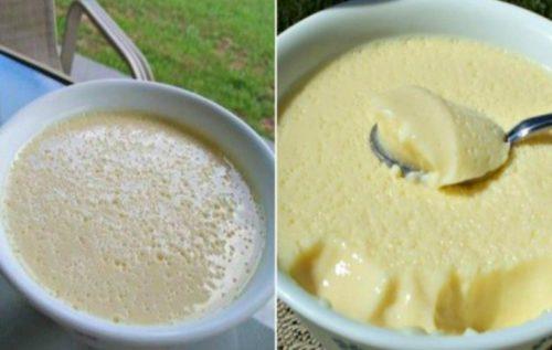 Воздушный крем-десерт всего за 5 минут...