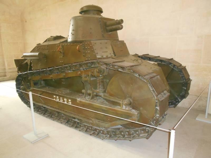 Ещё раз о танке «Рено» FT-17…