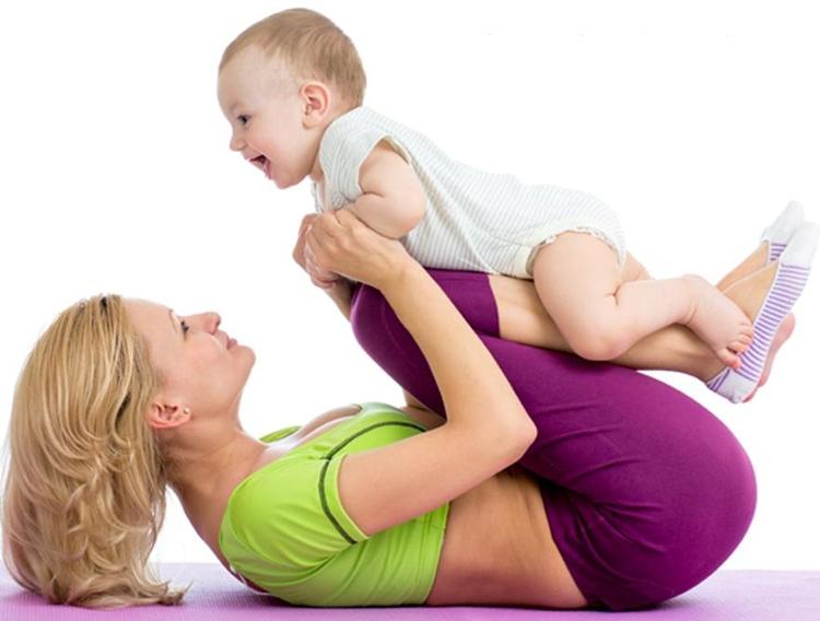 Как похудеть маме и ребенку