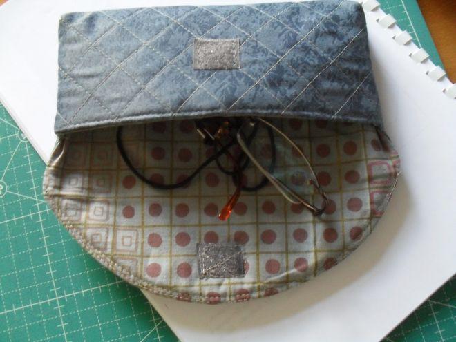 Чехол для очков на скорую руку: шьем удобный очечник за полчаса шитье