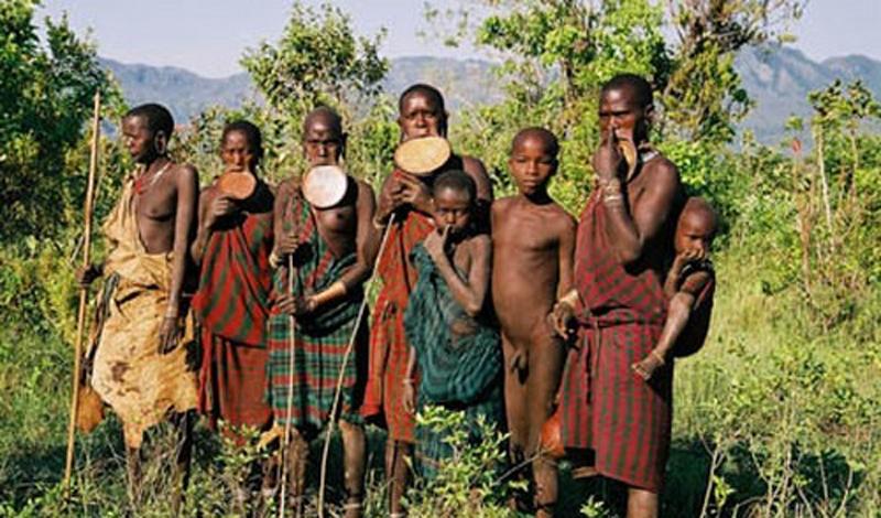 Племена, которых не коснулась цивилизация