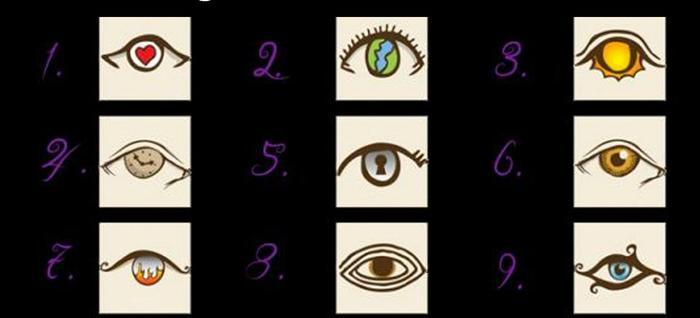 Личностный тест. Выберите глаз и узнайте, что вы за человек