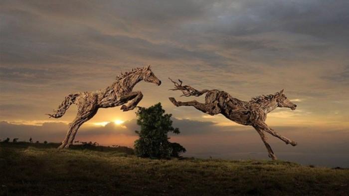 Эти скульптуры словно живые...