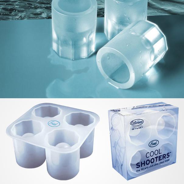 Ледяные стопки для водки дизайн, изобретения, креатив