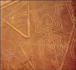 Рисунки пустыни Наска - одна из величайших загадок человечества