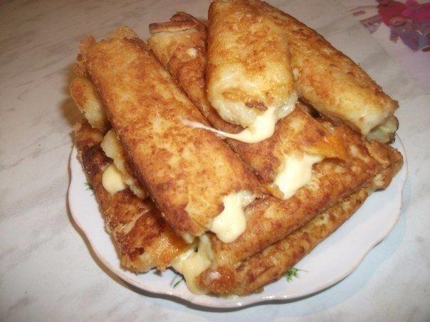 Картофельные палочки с сыром — нереально вкусно