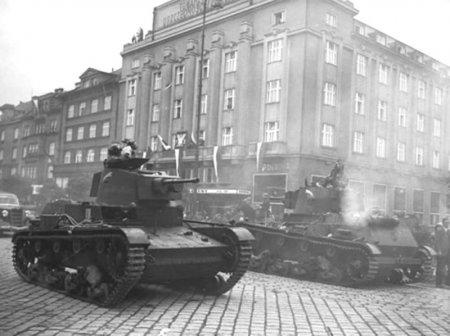 Расчленение и оккупация Чехословакии.1938