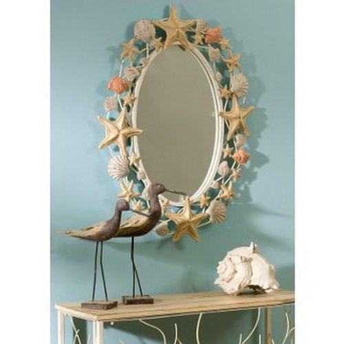 Зеркало в морском стиле вдохновляемся,для дома и дачи,мастер-класс