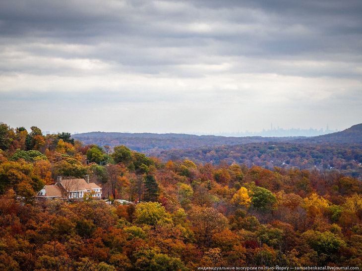 Осень в Нью-Джерси