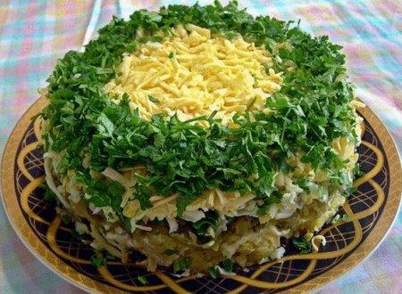 грибы под шубой рецепт с фото
