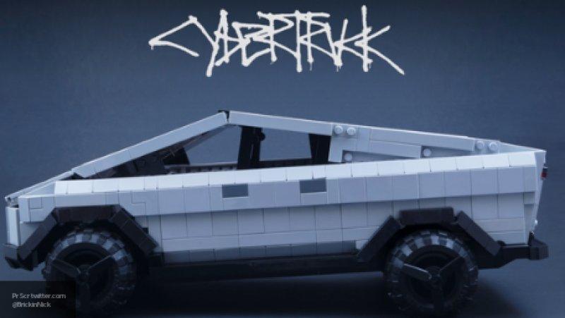 Пикап Tesla Cybertruck собрали из деталей конструктора Lego