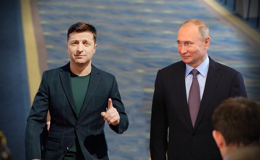 Зеленский начал подражать и копировать Владимира Путина новости,события,новости,политика
