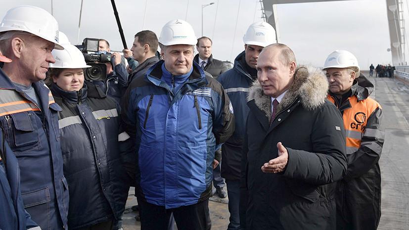 «Успехи полуострова заводят американских коллег»: посольство РФ ответило на заявление Госдепа США о визите Путина в Крым