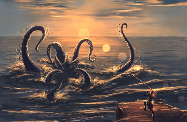 Гигантские кальмары и осьминоги действительно существуют?