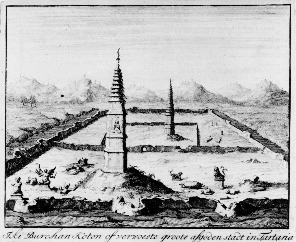 Разрушенные города Даурии