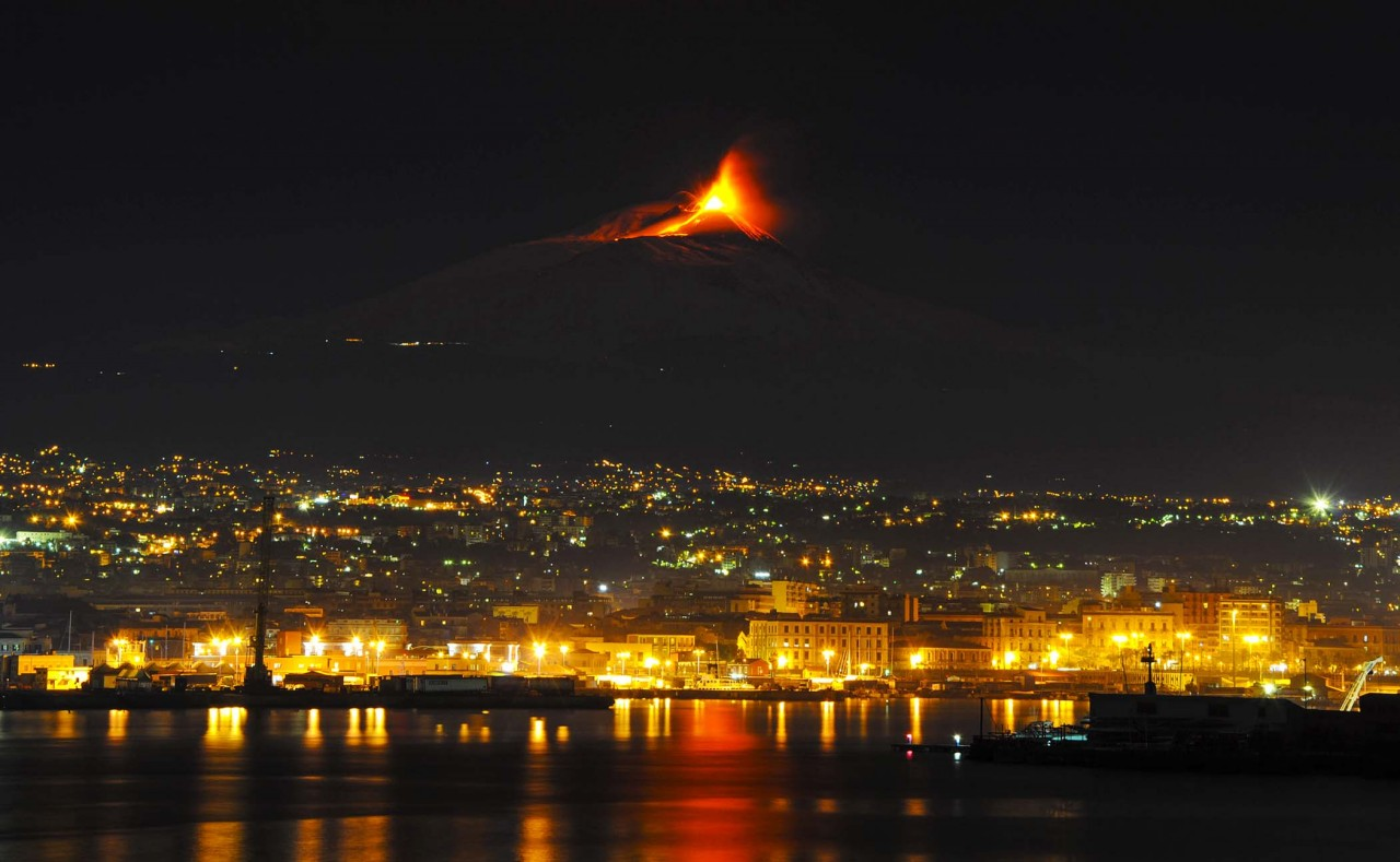 Путешествие к вулкану Этна. Сицилия