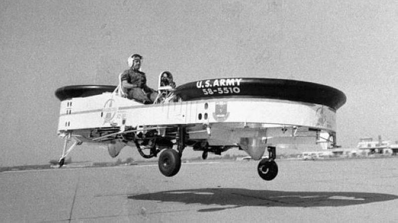 Летающий джип для американской армии. Piasecki VZ-8 Airgeep