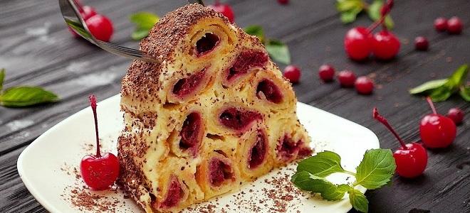 Торт «Монастырская изба» со сгущенкой