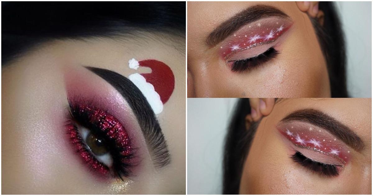 20+ эксцентричных идей макияжа на Новый год, которые вдохновят вас