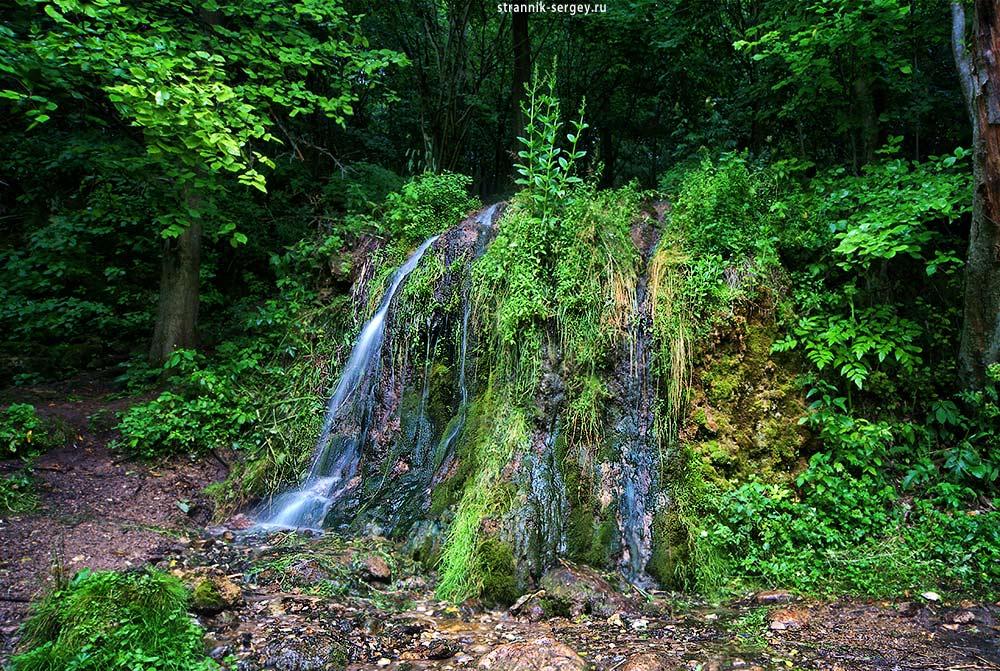 Волшебная долина: водопад в Подмосковье