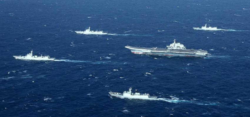 Конец военно-морского доминирования США в Азии