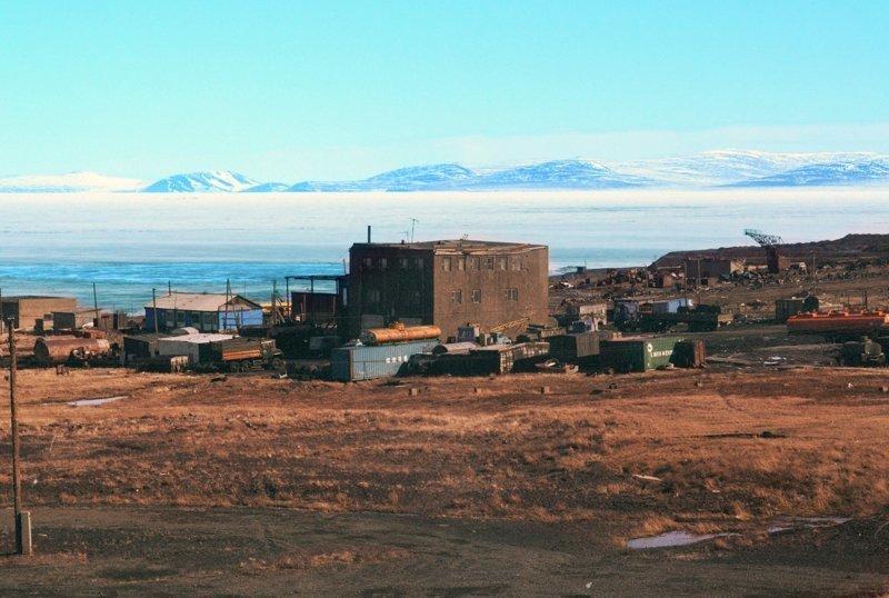 Певек, самый северный город России