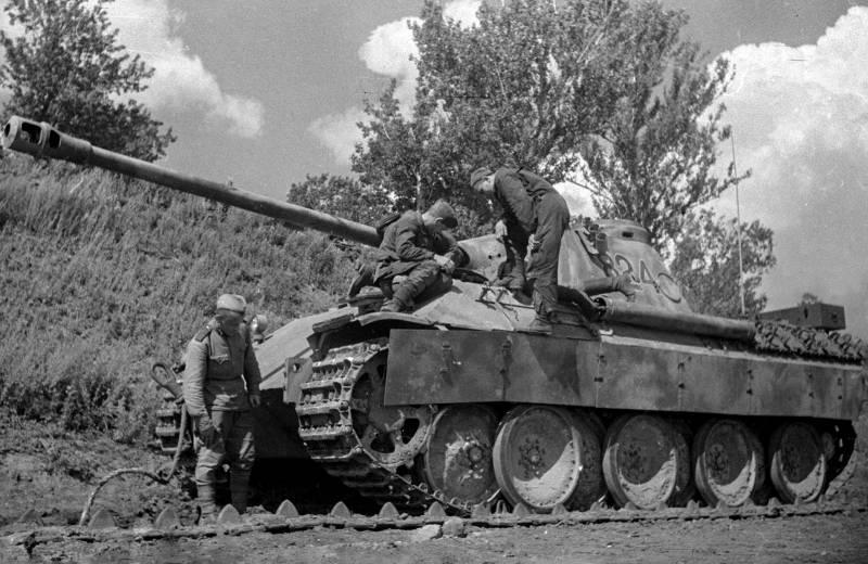 Танк Pz.Kpfw.V Panther. Малое количество и большие проблемы