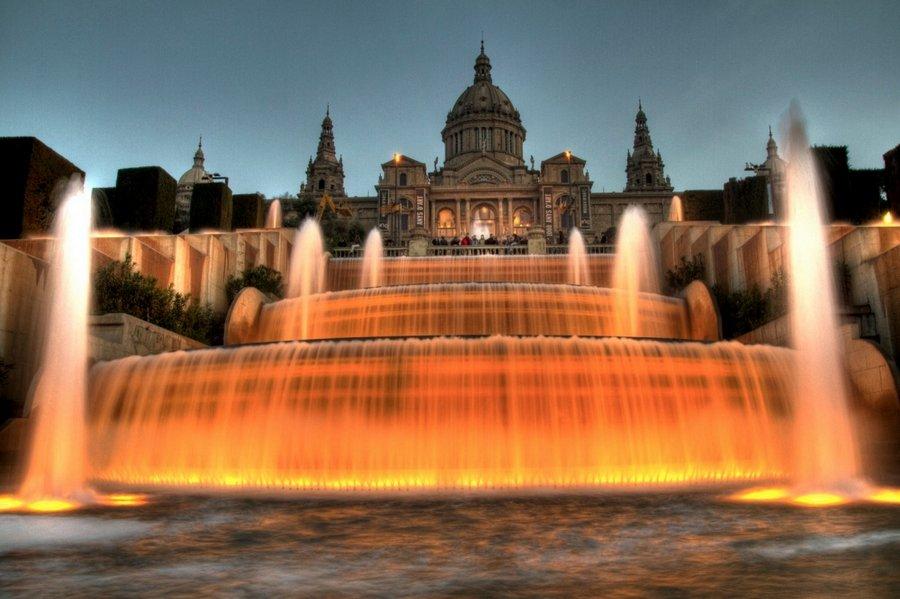 Невероятно красивые фонтаны мира