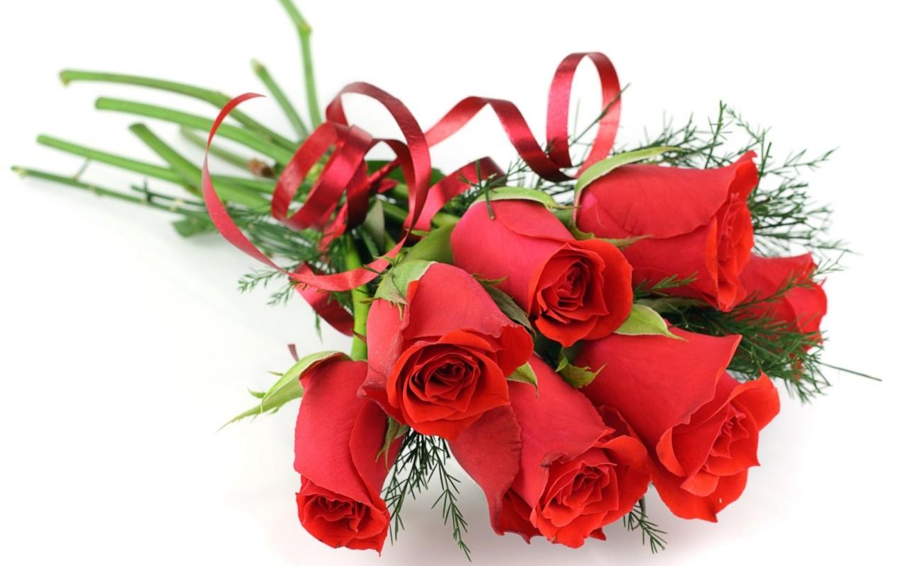 Поздравления в открытки с цветами