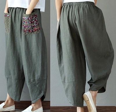 Мешковатые брюки с резинкой