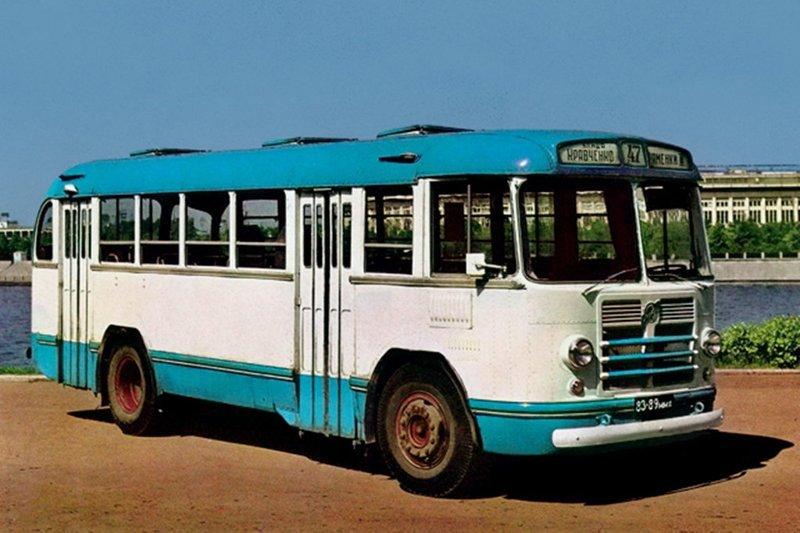 ЗиЛ-158 история, советские автобусы, транспорт