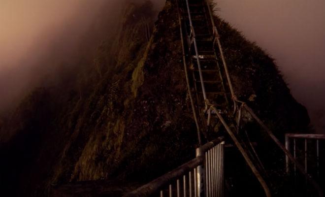 Человек на необитаемом острове оставил одно фото и исчез Лестница, полиции, только, острова, известно, устроили, Дайлена, Дайлен, Хайку, острове, никогда, никто, видел, страницеБольше, фотографию, оставить, успел, этого, походПосле, написавЛестница