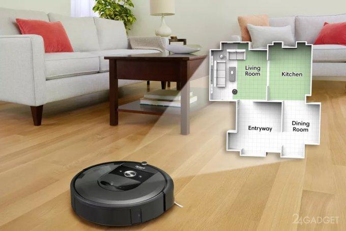 Google узнает всё о вашем доме через iRobot