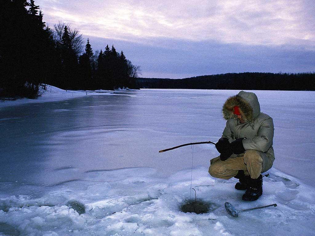 Новичкам о зимней рыбалке