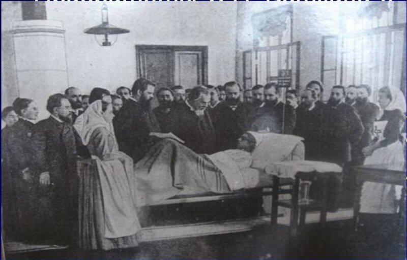 С.П.Боткин с консилиумом у постели больного. история, медицина, факты