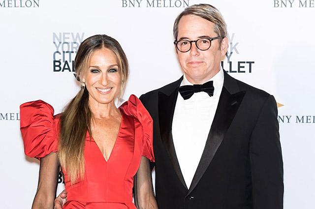 Сара Джессика Паркер и Мэттью Бродерик отметили 23-ю годовщину свадьбы