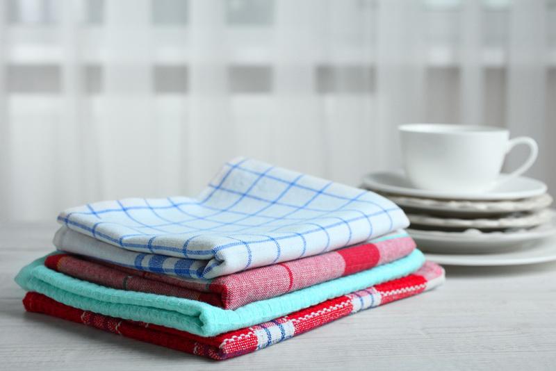 Как вернуть кухонным полотен…
