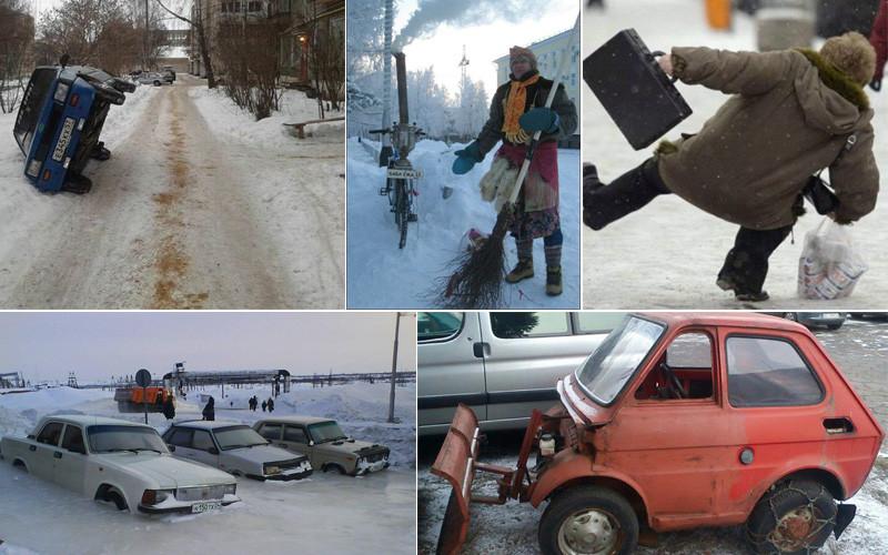 Это русская зима