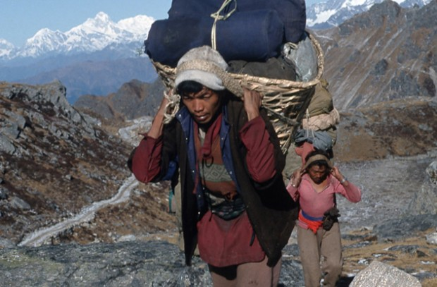 Жители Тибета