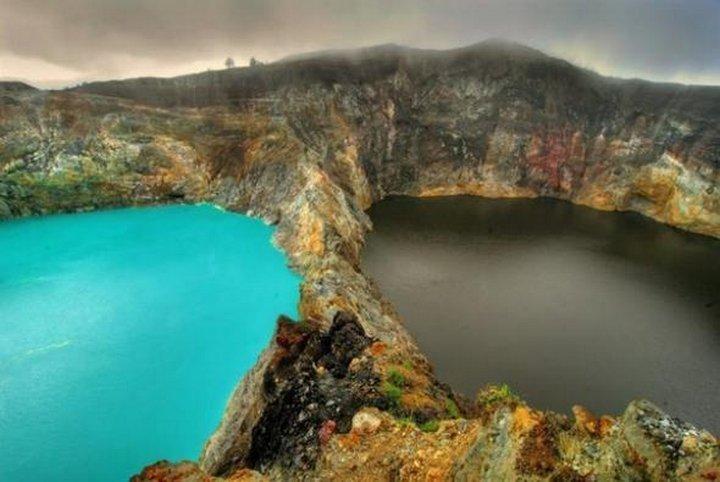 Индонезийские Озера Слез — озера злых духов