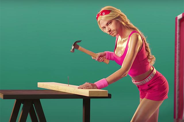 Психодел или лучшая роль в карьере: Александр Петров перевоплотился в девушку в новой рекламе