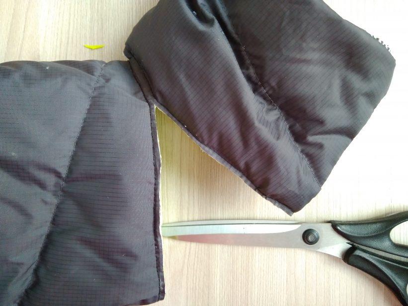 Как укоротить рукава куртки быстро и просто за 7 шагов мастерство