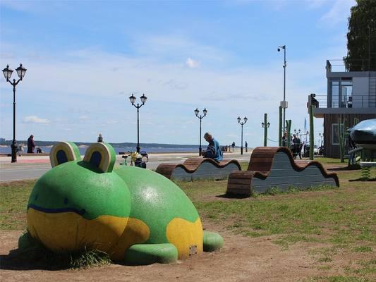 Благоустройство Московской набережной вошло в тройку лучших муниципальных практик России