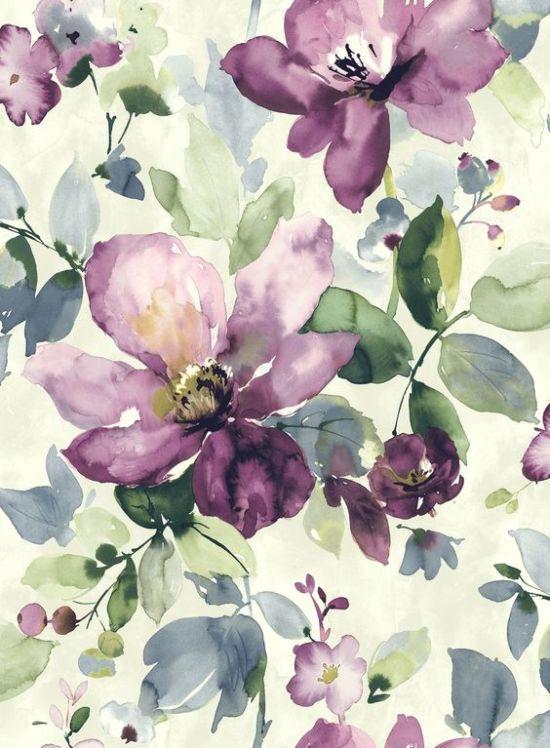 10 наглядных примеров того, что обои в цветочек – это стильно