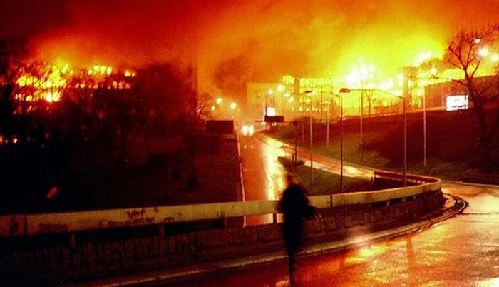 24 марта 1999 года начались бомбардировки Союзной Республики Югославия силами НАТО