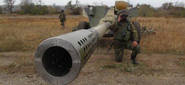 На Украине  требуют влупить по ДНР из всей артиллерии