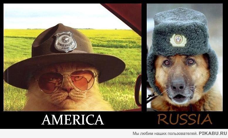 Приколы америка и россия картинки