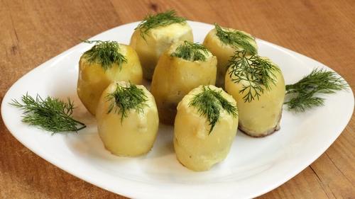 Картофельные гнёзда - видео рецепт