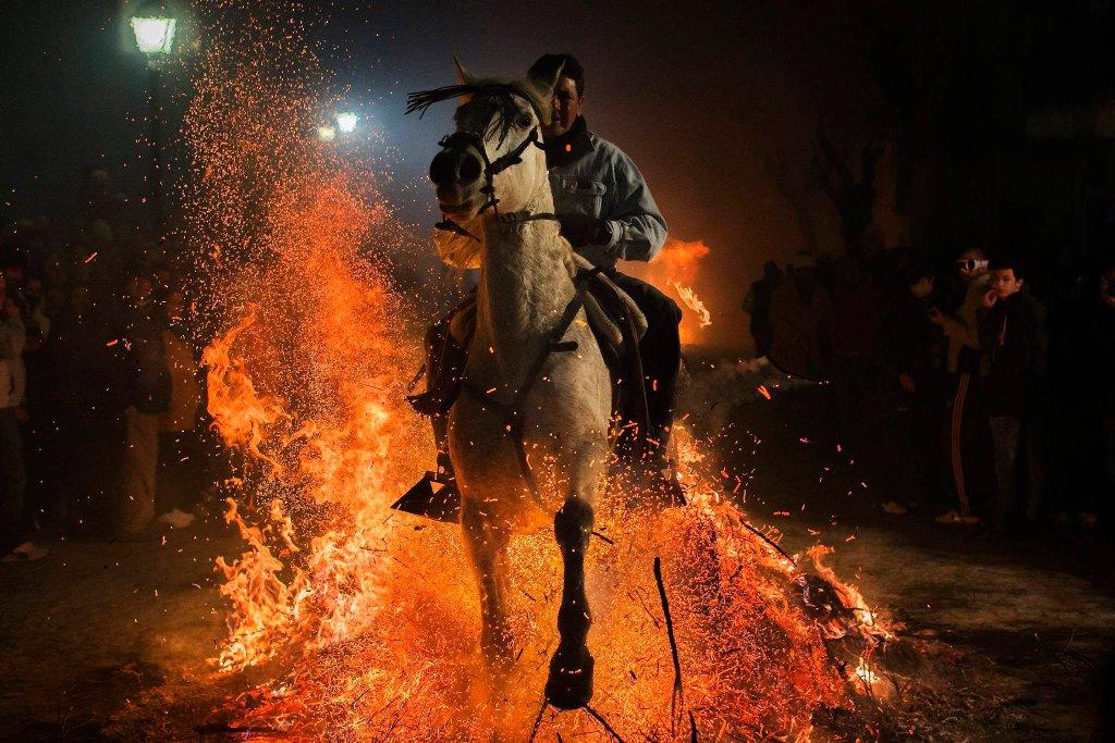 Luminarias — испанский фестиваль огня и животных