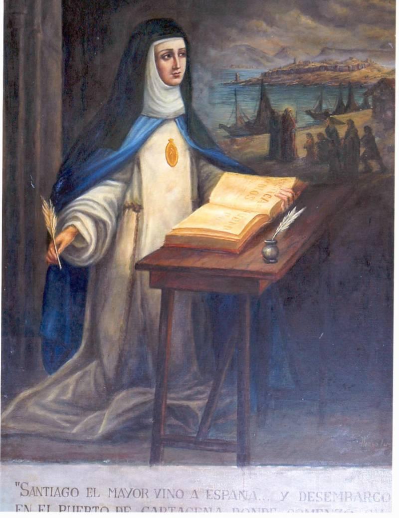 Невероятные полеты испанской монахини Марии Коронель де Агреда